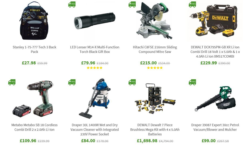 Hot deals at UK Tool Centre, 2