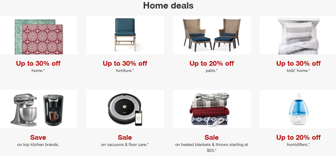Target deals and reduction