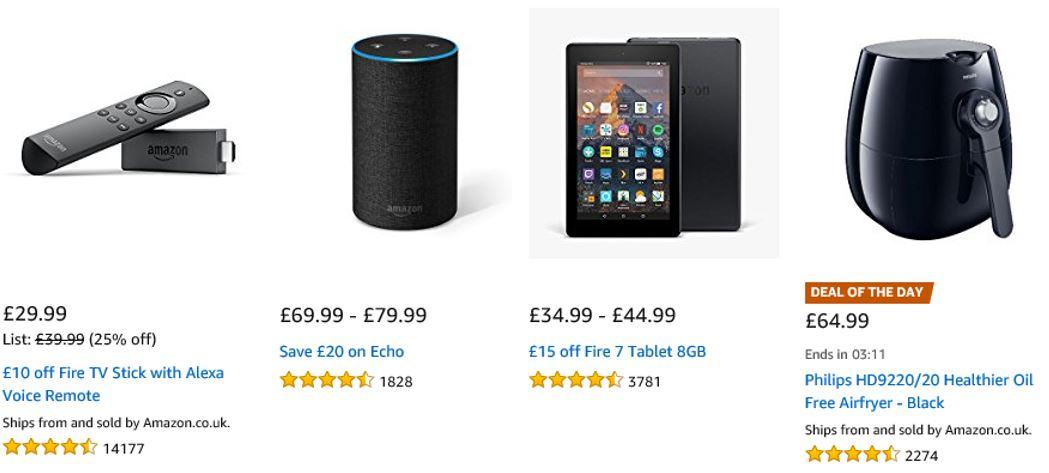 Todays deals Amazon UK