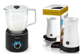 and Cold Foam for Coffee Coffee with Milk Sedhoom Electric Milk Frother in Stainless Steel Coffee Cream